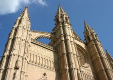 Free Palma Cathedral Royalty Free Stock Photos - 10196188