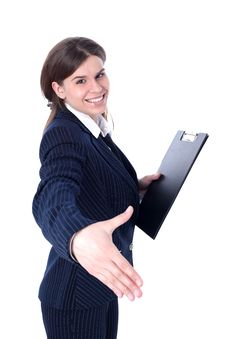 Free Friendly Businesswoman Stock Photography - 10196452