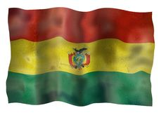 Free Vintage Flag Of Bolivia Royalty Free Stock Images - 10198419