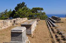Free Acropolis Kameiros,island Rhodes, Greece Stock Photography - 10198702