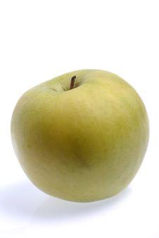 Single Apple Stock Image