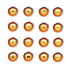 Free Web Buttons Stock Image - 10199671