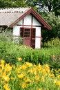 Free Fredensborg Castel , Queen Garden House Royalty Free Stock Photography - 1027067