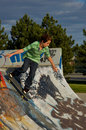 Free Boy At The Skate Park Stock Photography - 1027532