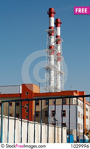Free Heat And Power Plant Royalty Free Stock Image - 1029996