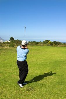 Free Golfer Royalty Free Stock Photography - 1021067