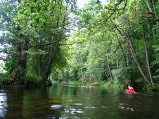 Free Kayaking Royalty Free Stock Photography - 1021297