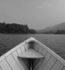 Free The Lone Rowboat Stock Photos - 1021983