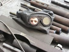 Free Welder - Arc Welder 02 Stock Photo - 1022150