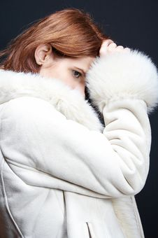 Free Elegant Woman In Winter 02 Stock Photo - 1022240