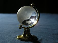 Free The Glass Globe Stock Photography - 1022332