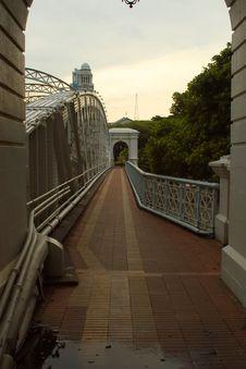 Free Steel Bridge Walkway Stock Photos - 1022423