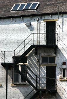 Free Fire Escape Stock Image - 1023311