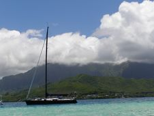 Free Sail Boat, Kailua Stock Photography - 1023752