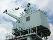 Dockyard Crane 1 Royalty Free Stock Photography