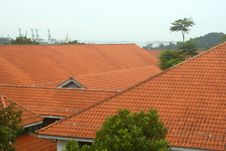Free Roof Tops Royalty Free Stock Image - 1025036