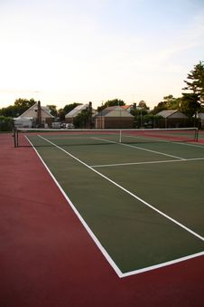 Free Tennis Court Stock Photography - 1025212