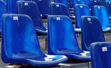 Empty Seats Stock Images