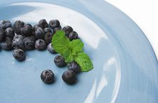 Free Berries On A Plate Stock Photos - 1026513