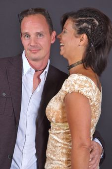 Free Couple Talk Royalty Free Stock Photo - 1026875