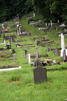 Free Old Graveyard Stock Image - 1026911