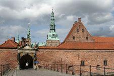Frederiksborg Slot Hilleroed Stock Photo
