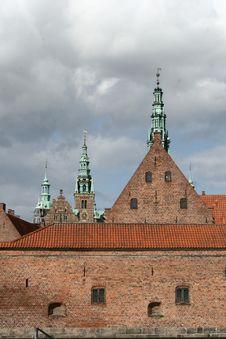 Frederiksborg Slot Hilleroed Royalty Free Stock Photography