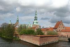 Free Frederiksborg Slot Hilleroed Stock Photography - 1026982