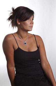 Free Black Dress Royalty Free Stock Image - 1027006