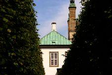 Free Fredensborg Castel Stock Image - 1027071