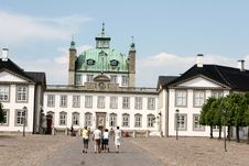 Free Fredensborg Castel Stock Photography - 1027102
