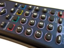 Remote Control Buttons Stock Images