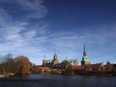 Frederiksborg Slot Hilleroed Stock Photography