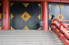 Free Temple Doors Stock Photography - 1027562