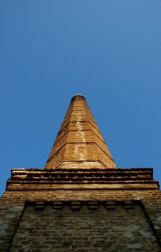 Free Old Factory Chimney 2 Stock Photography - 1027692