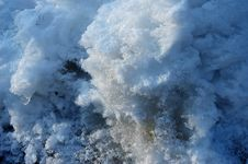 Free Polluted Snow 2 Stock Image - 1027841