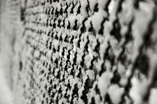 Free Snowy Fence Royalty Free Stock Photo - 1028065