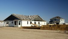 Free New Home Construction Royalty Free Stock Image - 1029936
