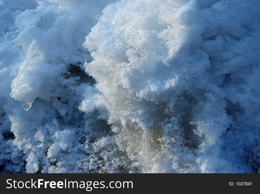 Polluted snow 2