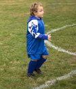 Free Soccer Player Running Stock Photography - 10207122