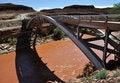 Free Bridge Over San Juan River - Mexican Hat Stock Images - 10209344