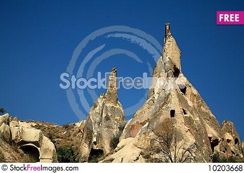 Free Cappadocia Rock Landscapes Royalty Free Stock Photos - 10203668