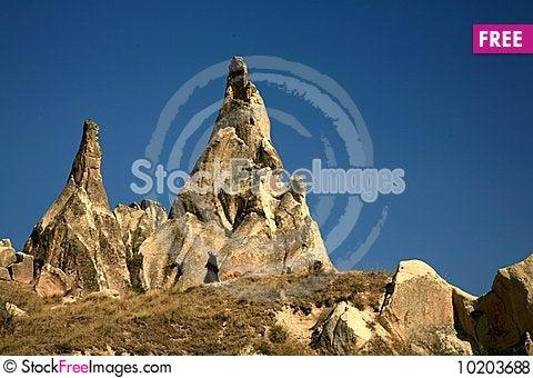 Free Cappadocia Rock Landscapes Royalty Free Stock Photos - 10203688