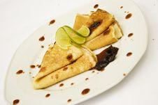 Free Pancakes With Jam Royalty Free Stock Photos - 10200148