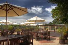 Free Resort Hotel Patio Royalty Free Stock Photos - 10200588