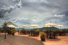 Free Resort Hotel Patio Stock Photography - 10200612