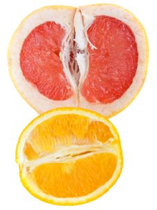 Free Grapefruit And Orange Royalty Free Stock Images - 10200939