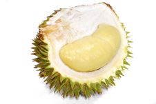 Durian Asian Fruits Series 01 Stock Image