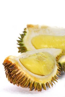 Durian Asian Fruits Series 01 Royalty Free Stock Images