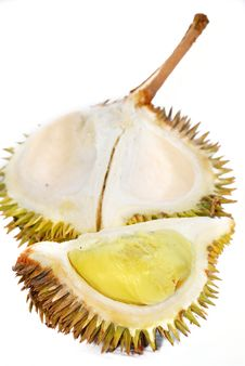 Durian Asian Fruits Series 02 Stock Photo